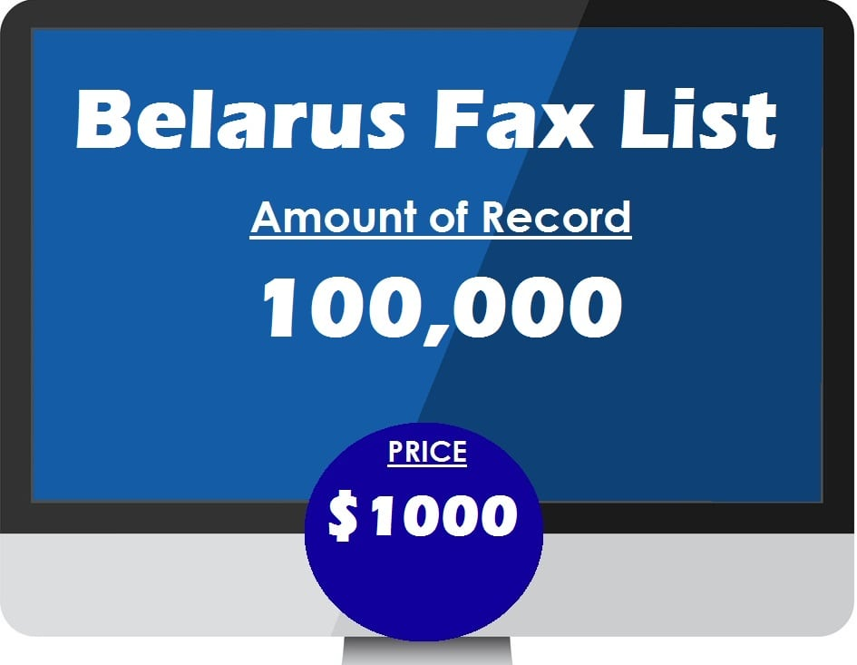 Buy Belarus fax list