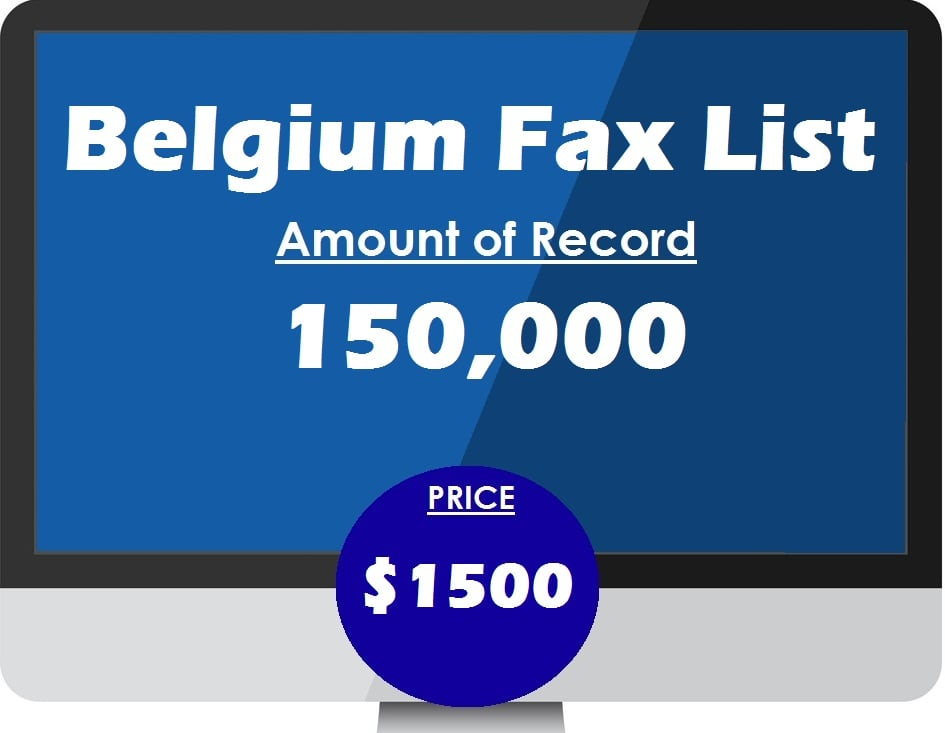 Buy Belgium Fax List