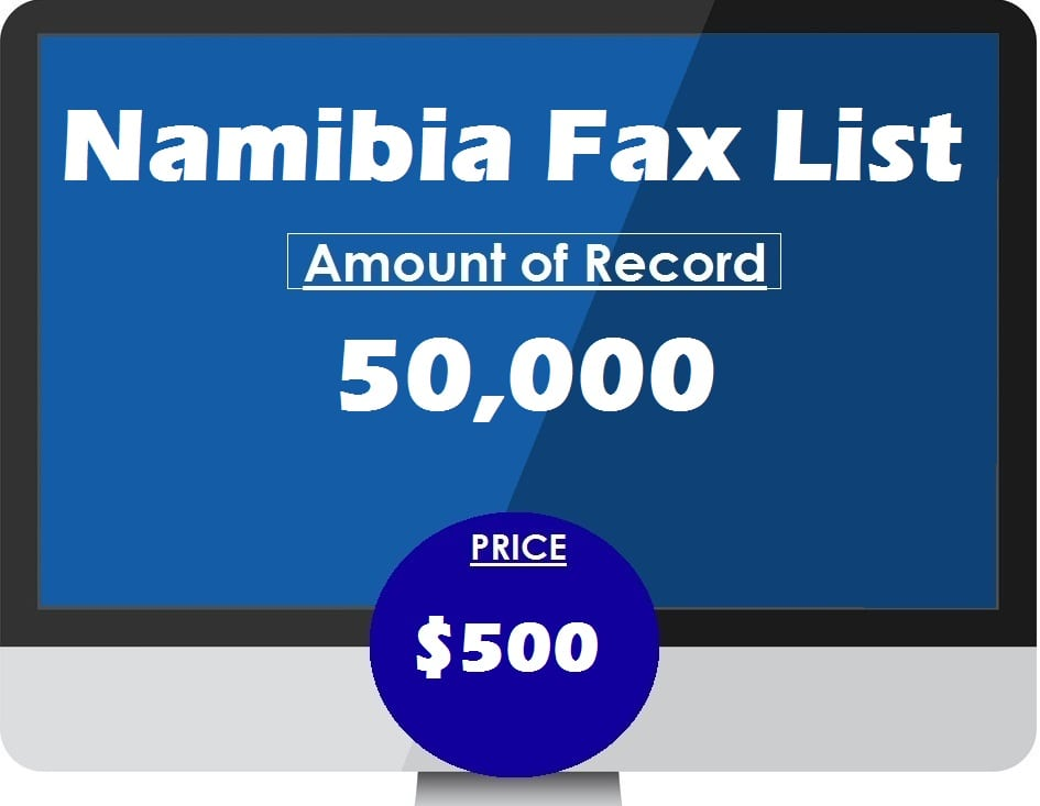 Buy Namibia Fax List