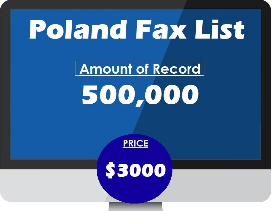 Buy Poland Fax List