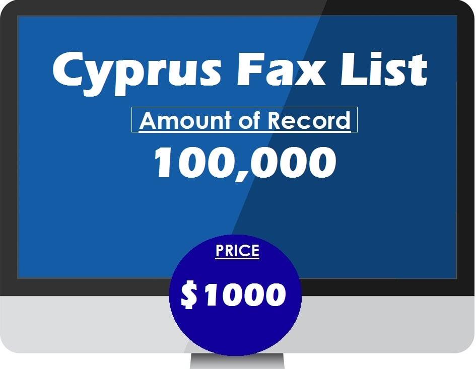 Buy cyprus fax list